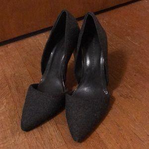 Women's Banana Republic Gray Heels 6